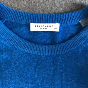 Equipment cashmere sweater, size small